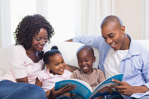 Reading to children grows their vocabulary