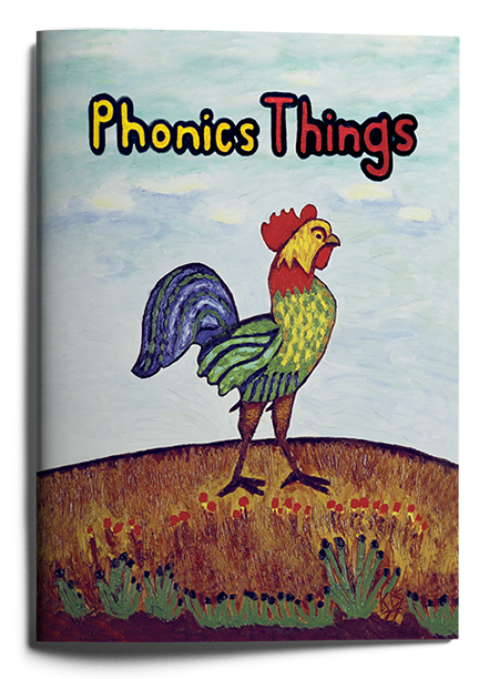 Phonics Things book. Learn to Read with Phonics