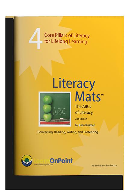 Literacy Mats book image