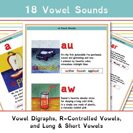 18 Vowel Sounds Thumbnail